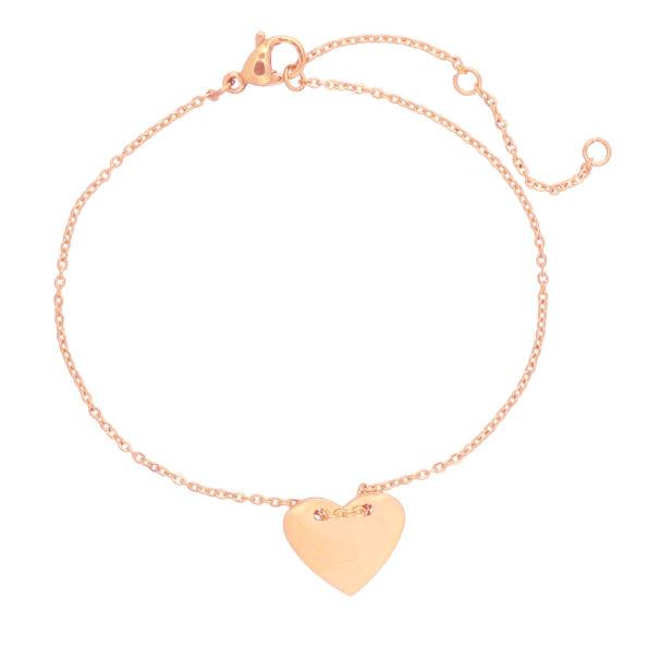 Heart Bracelet Rose